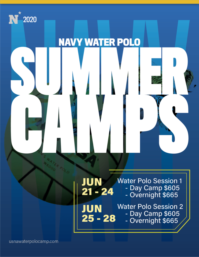 Navy water polo camp 2020