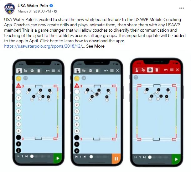 USA Water Polo app